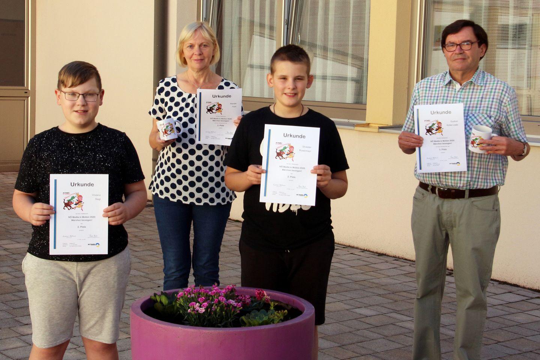 Zwei top 3-Plätze bei NÖ Medienwettbewerb